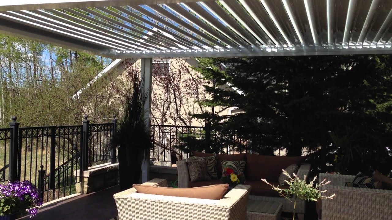 Suncoast Enclosures   Louvered Roof