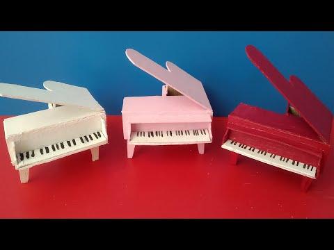 Kartondan Piano Yapımı | DIY| Minyatür Piano Nasıl Yapılır