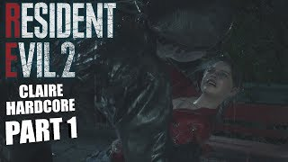 GETTING RIGHT INTO IT! | Resident Evil 2 REMAKE CLAIRE GAMEPLAY PART 1