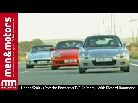 Honda S2000 vs Porsche Boxster vs TVR Chimera – With Richard Hammond