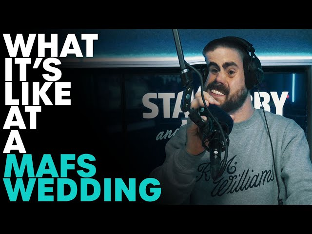 What It's Like Attending a MAFS Wedding | B105