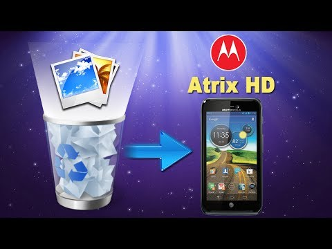 How to Restore Deleted or Lost Photos/Pictures from MOTOROLA Atrix HD?