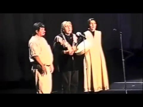 Leonard George's speech and his healing chant