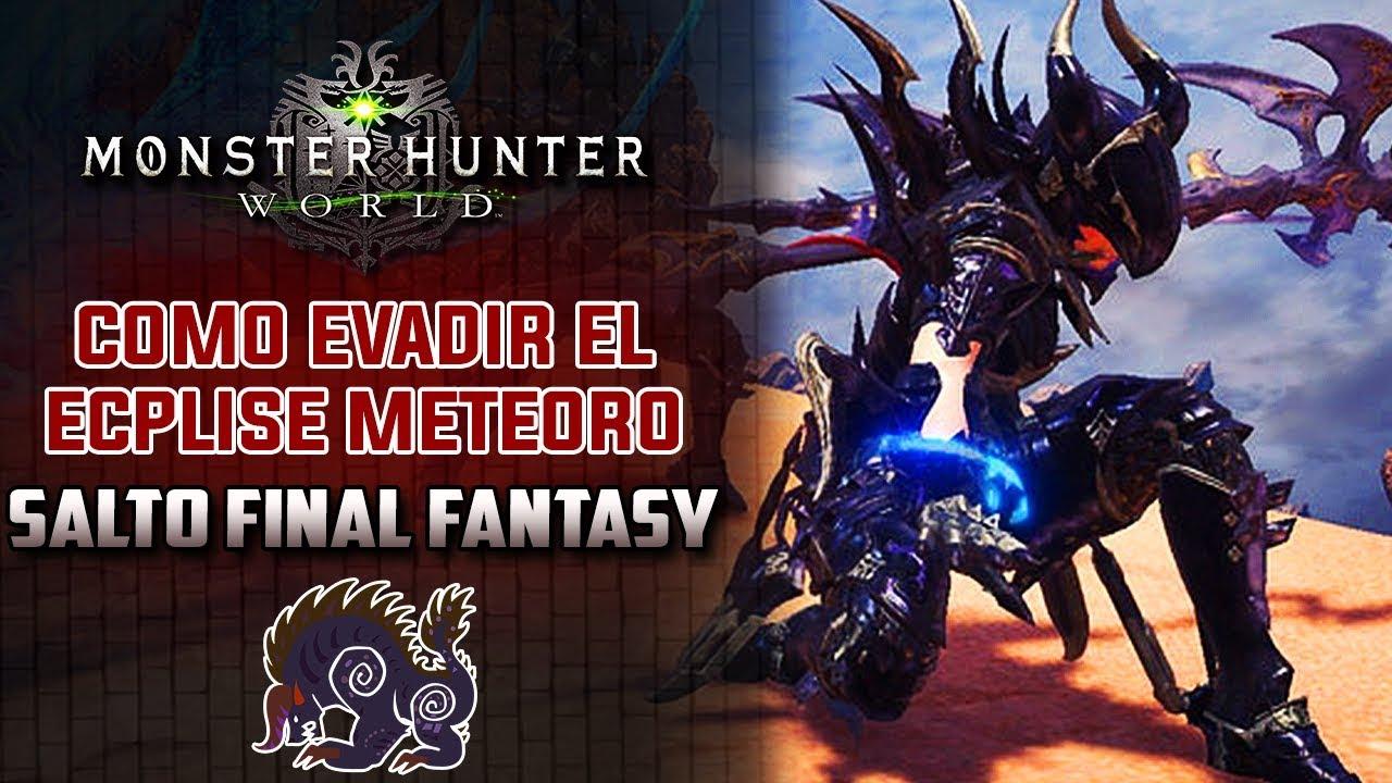 Extracto de poder monster hunter world