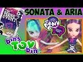 Equestria Girls SONATA DUSK & ARIA BLAZE Rainbow Rocks MLP Dolls! Review by Bin's Toy Bin