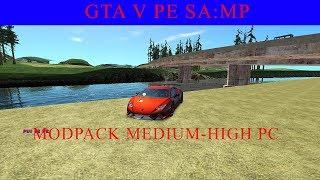 GTA V pe samp: Modpack medium-high pc, CEL MAI PARE MODPACK PE CARE L-AM AVUT !!!