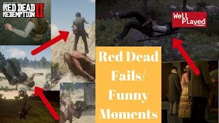 RED DEAD REDEMPTION FUNNY MOMENTS AND FAILS!!! *HILARIOUS MUST WATCH*