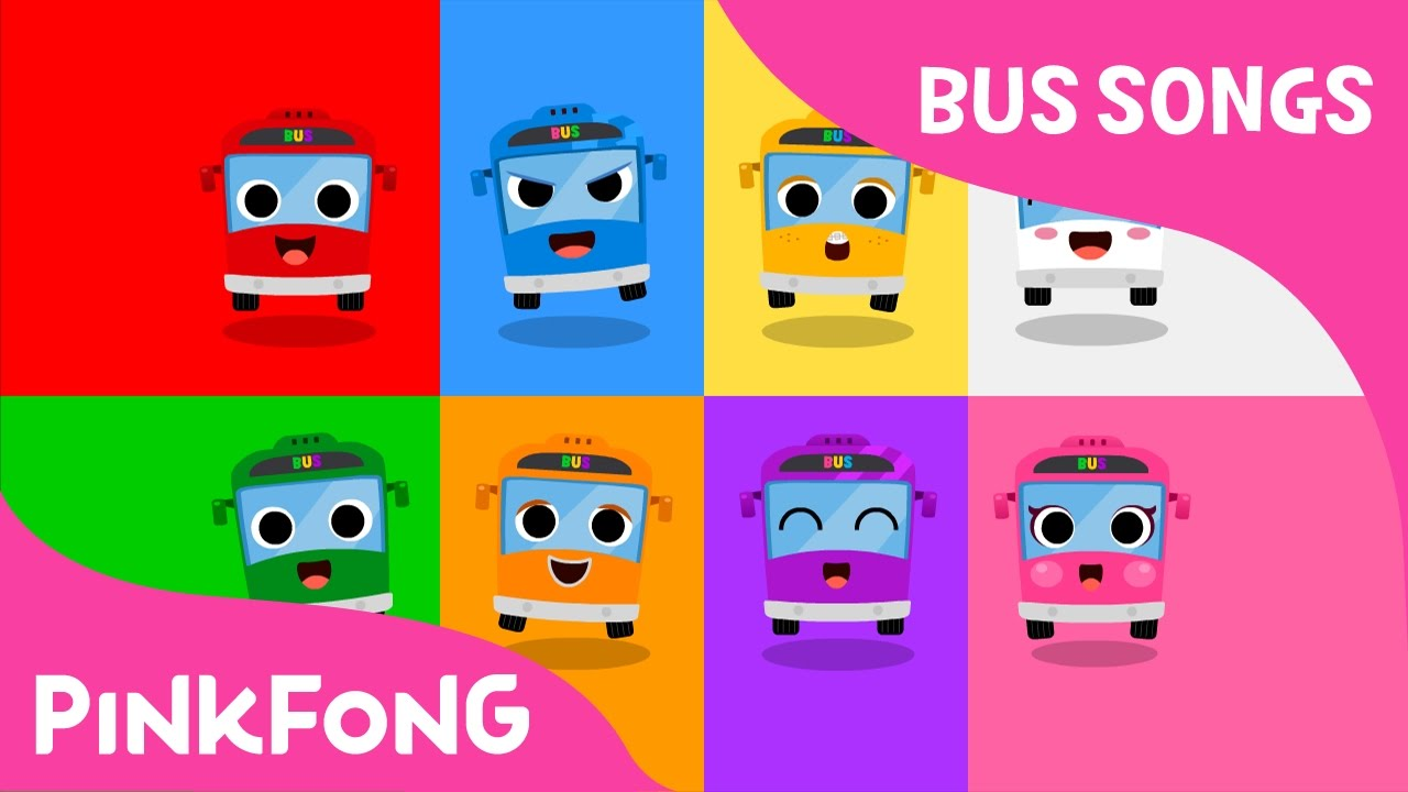Download Color Bus | Bus Songs | Car Songs | Pinkfong Songs for Children