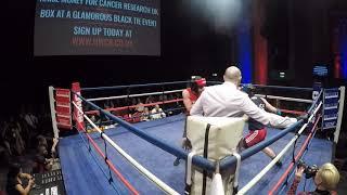 Ultra White Collar Boxing   London 16 12 18   Chris Geoghegan VS Paul Williamson