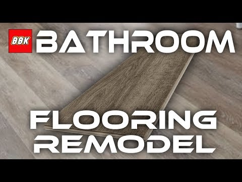 bathroom-floor-remodel---removal-and-installation-of-stainmaster-luxury-vinyl-planks