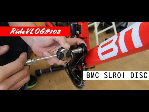 BMC納車その2 スプロケット交換とスピードプレイグリスアップ BMC SLR01 DISC RideVLOG#102