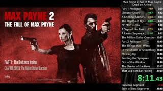 Max Payne 2 Any% Speedrun (Dead on Arrival) 34:58