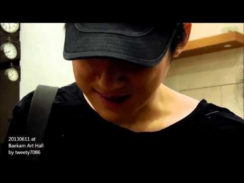 Song Chang Eui 송창의 20130611 @ Baekam Art Hall, Seoul