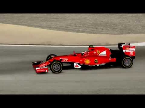 F1 2014 (mode 2015) Bahrain GP Ferrari (PLY) race