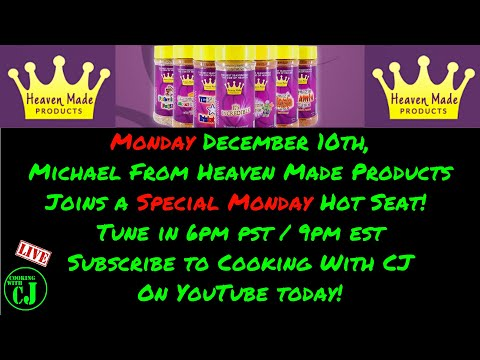 Michael Pitre from Heaven Made Products joins The Hot Seat! (Heaven Made Products Giveaway)