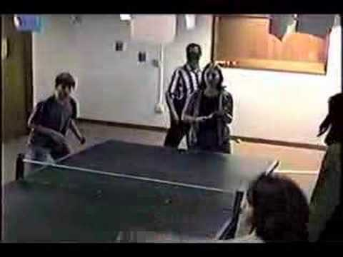 group ping pong & the body part game
