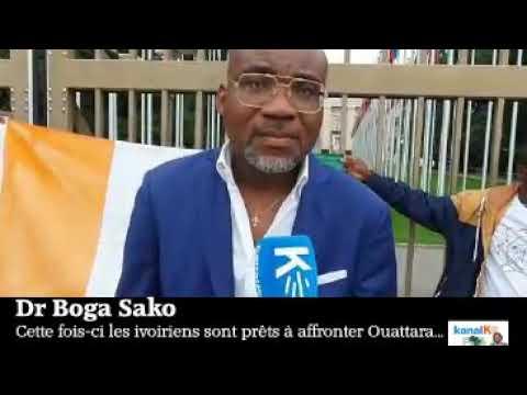 Dr. Boga Sako: Cette fois-ci les ivoiriens sont prêts à affronter Ouattara