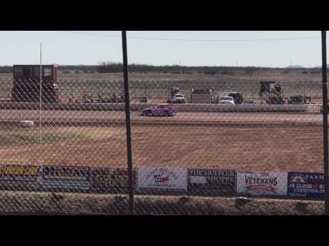 Austin's 3rd time out - Practice 02/12/2017 @ Abilene Speedway