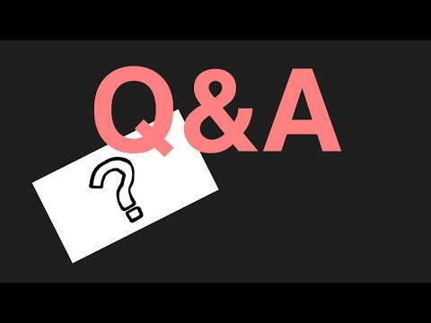 Q&A !!!!!!its been a long time