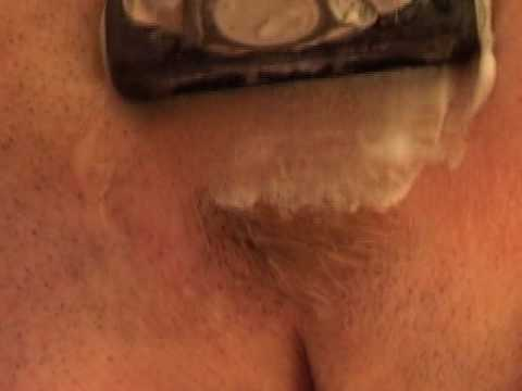 shaved nude video