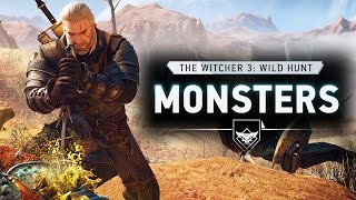 The Witcher 3 Gameplay Dev Walkthrough of Monsters, Spells & Bosses! New Screenshots & Outfits