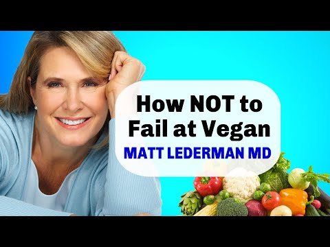How to Succeed on a Plant Based Diet Matt Lederman MD
