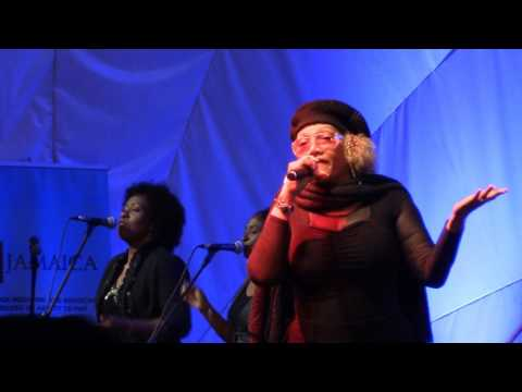 "Marcia Griffiths empowers women in song & channels Bob Marley's 'No Woman No Cry"" in #GBV fight"