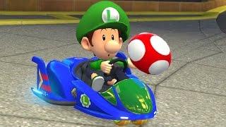 Mario Kart 8 Deluxe - 200cc Bell Cup (Baby Luigi Gameplay)