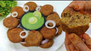 Real Shami kabab banane ka tarika | Deep fry Resha Shami kabab bina peese