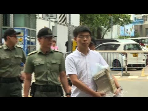 AFP news agency: Hong Kong protest leader Joshua Wong released from prison | AFP