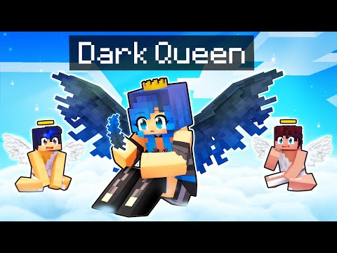The DARK ANGEL That Became A QUEEN In Minecraft!