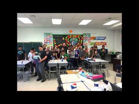 Hammonton Middle School 6th Grade Linda Scully's Class