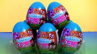 MOSHI Monsters Surprise Toys Easter Eggs Holiday Edition Unwrapping toys Review Disneycollector