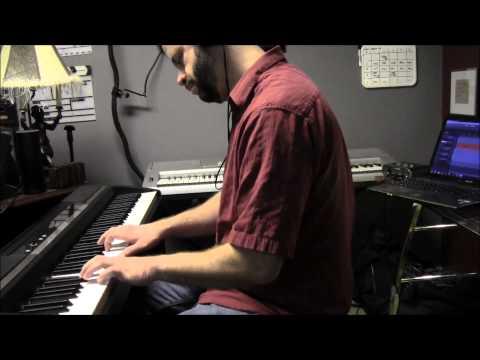 Snowfall on a Light Glissade (piano) by Thorsteinn Gunter