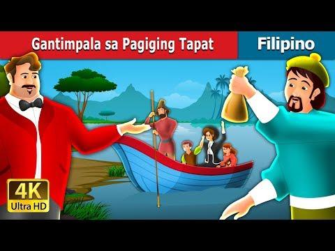 Gantimpala sa Pagiging Tapat | Kwentong Pambata | Filipino