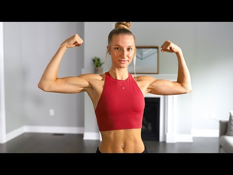 TONE YOUR ARMS Workout - QUICK & INTENSE (No Equipment)