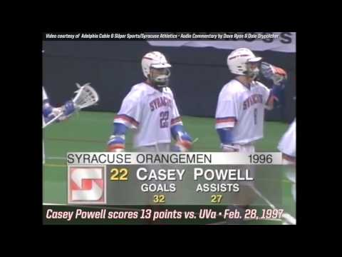 1997 Virginia @ Syracuse - Casey Powell's 13-Point Performan