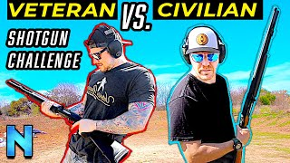 Civilian vs Ex-Military: Shotgun Challenge