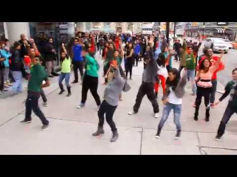 ICC World Twenty20 Bangladesh 2014 Flash Mob - Toronto, Canada @ Dundas Square