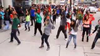 ICC World Twenty20 Bangladesh 2014 Flash Mob - Toronto, Canada @ Dundas Square