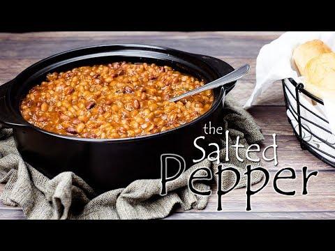 BETTER than BUSH'S Homemade Baked Beans Ninja Foodi Recipe