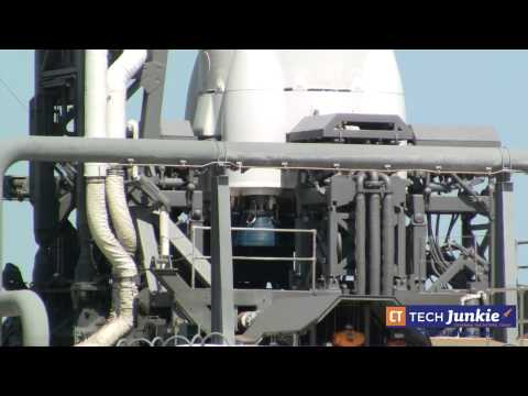 A Tour of the SpaceX Falcon 9 Launch Pad at Cape Canaveral Florida