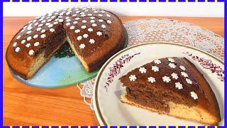 Пирог к чаю на молочном тесте с медовым вкусом