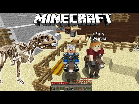 AM GASIT O FOSILA DE DINOZAUR!!! - Minecraft Pierduti In Desert #4