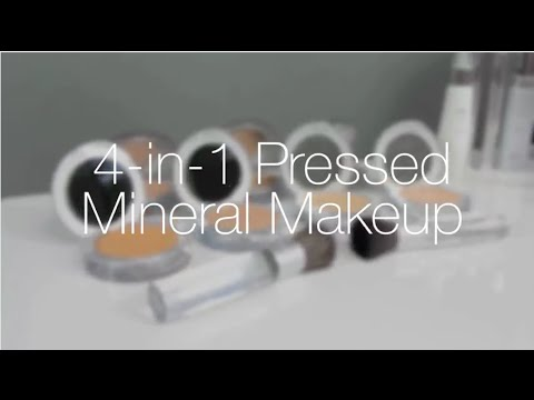 4-in-1 Pressed Mineral Powder Foundation