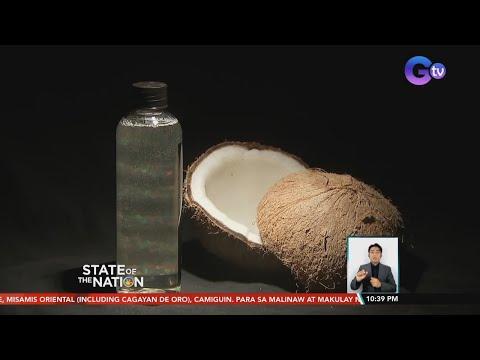 Resulta ng clinical trial sa virgin coconut oil at lagundi kontra COVID-19...   SONA