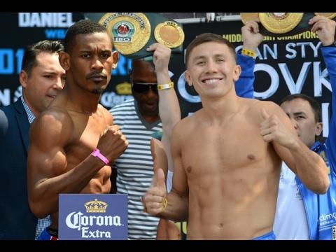 Golovkin vs Jacobs_Big fight March 18, 2017