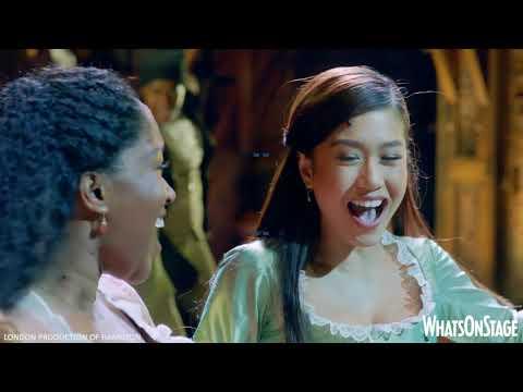 London's Hamilton | Show footage & West End Schuyler Sisters interview