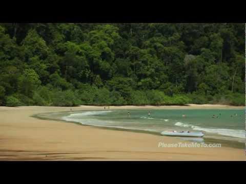 Kedah Datai Beach - Malaysia Travel Video - HD 720p