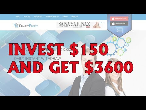 Invest $150 And Get $3600 Profit Live Payment Proof